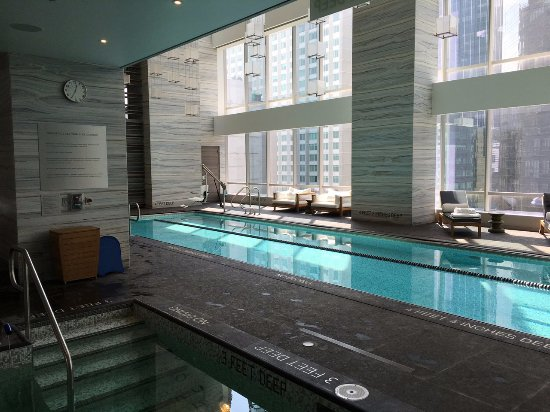 Indoor Pool Was Beautiful Picture Of Park Hyatt New York New York City Tripadvisor