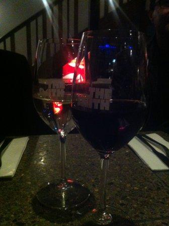 The Smith Restaurant & Bar: a white Reisling and a Shiraz