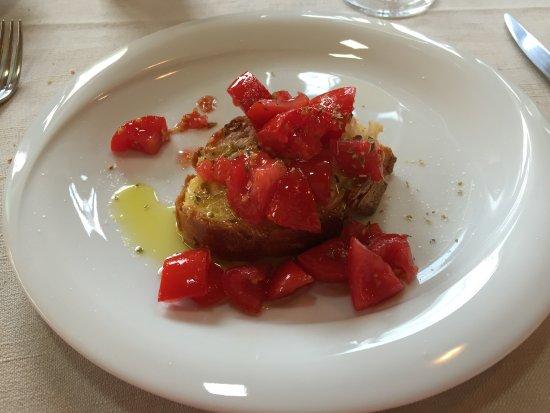 Luana Inn Bed and Breakfast: bruschetta