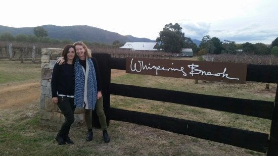 Broke, Australia: Whispering Brook Vineyard