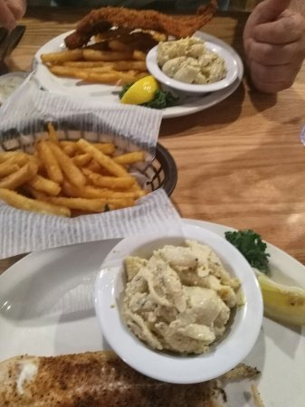 Belfast, estado de Nueva York: Fish fry