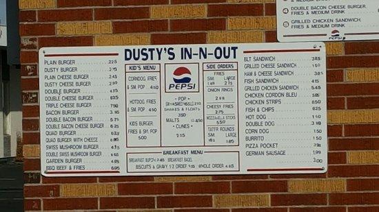 Ephrata, WA: Dusty's in