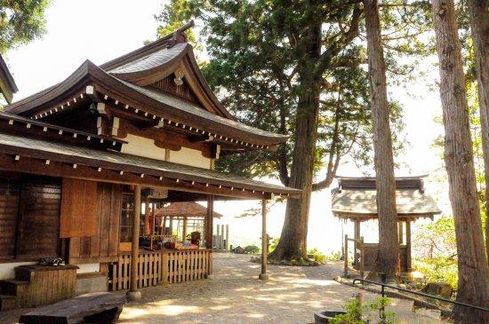 Funagata-machi, Japan: 猿羽根山地蔵堂