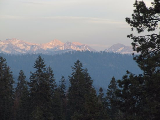 View from the Montecito Sequoia Lodge