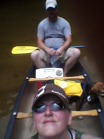 Blackwater River State Recreation Area: floating down river