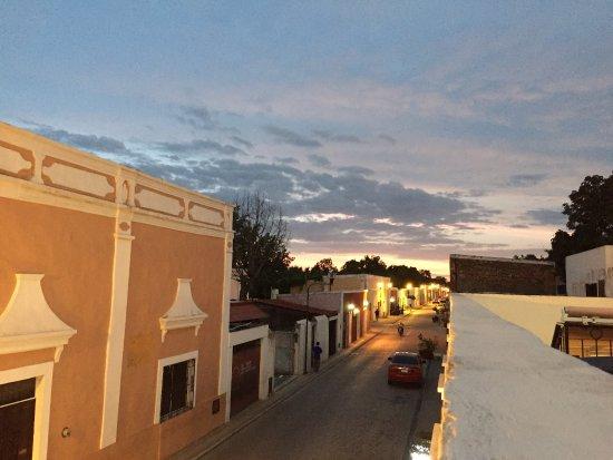 La Calzada Restaurante: Rooftop dinner
