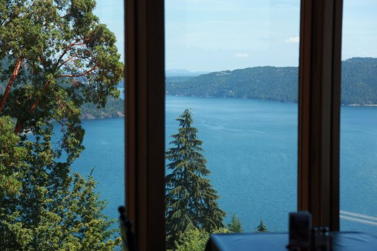 Malahat, Canada: View from inside