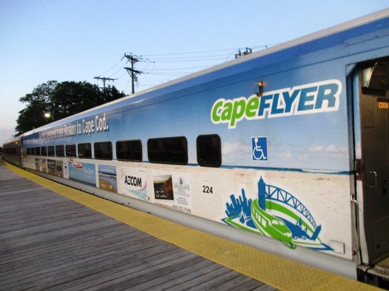This Is The Snack Car Picture Of Capeflyer Hyannis