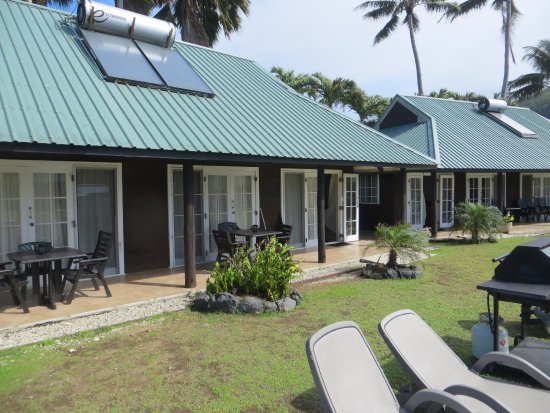 Muri Beachcomber: One of the units we stayed in..