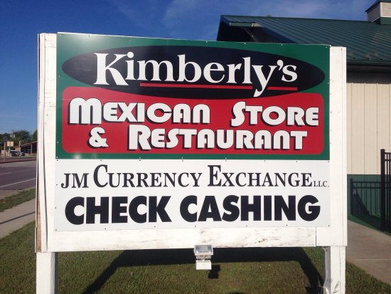 Lake Delton, WI: Kimberlys Mexican Store and Restaurant