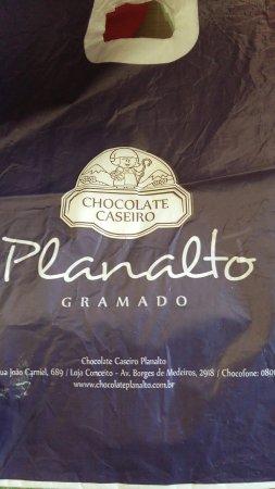 Chocolate Caseiro Planalto - Fabrica e Loja
