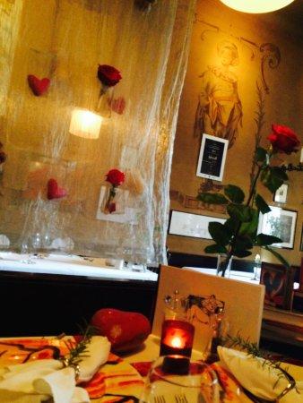 Ristorante Corti: gedeckter Tisch