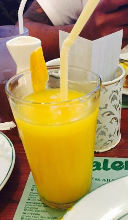 Cabalen: Ripe mango shake ... Unhappy , the use serving glass .