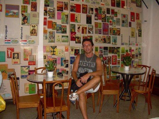 No interior da Fundação Casa de Jorge Amado