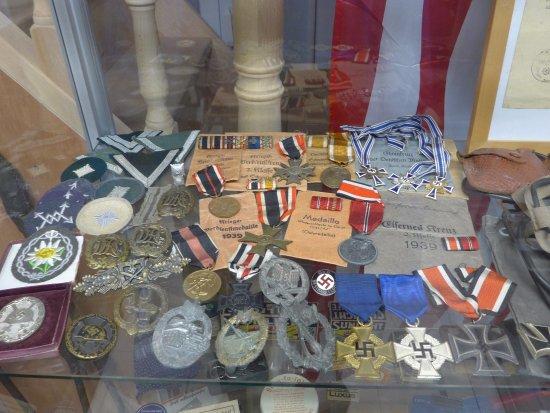 Liberators Museum - Normandy 1944 : Medailien und Abzeichen