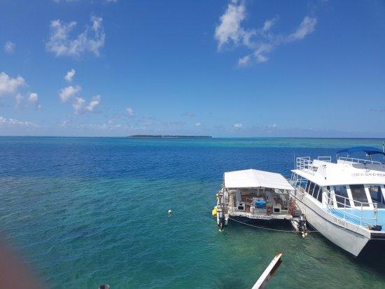 Кокосовые острова, Марианские острова: 코코스섬 들어가는 선착장