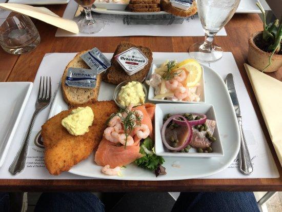 Skaelskoer, Dinamarca: Seafood delight