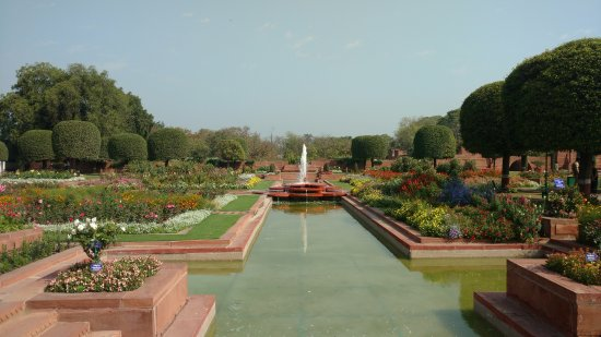 Picture Of Garden view of garden- 2 - picture of mughal garden, new delhi - tripadvisor