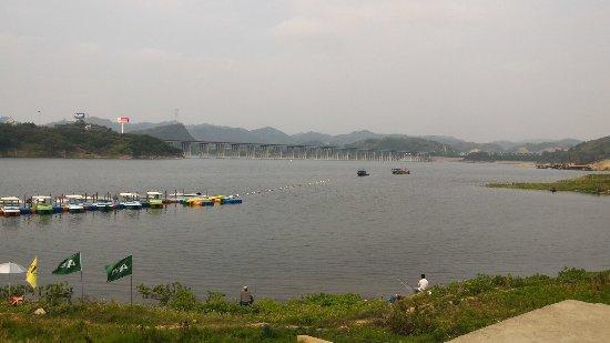 Shiyan, Cina: 武当山太极湖