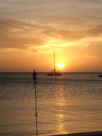Atardi: A great sunset and wonderful meal with my bride