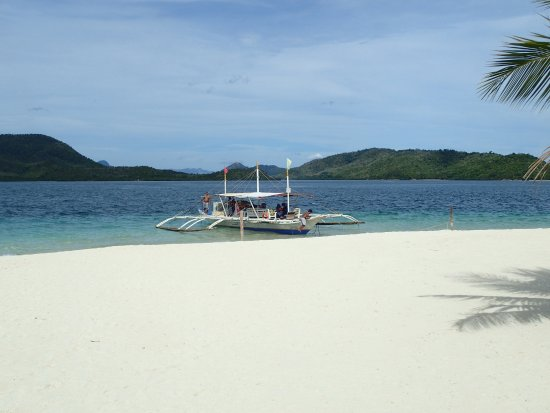 Busuanga Island, Filipina: our boat