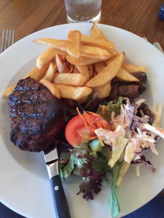 Dog & Crook: Fillet steak from the specials board.