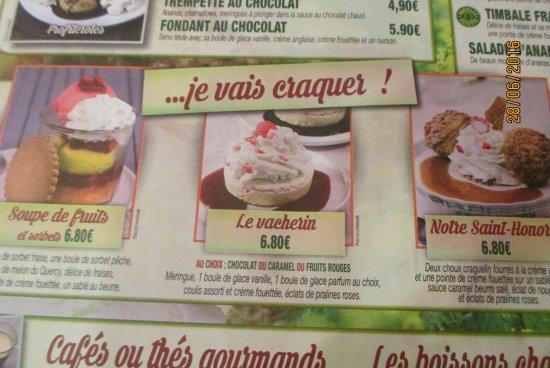 Saint-Marcel, Fransa: je n'ai pas craqué !!!!!!
