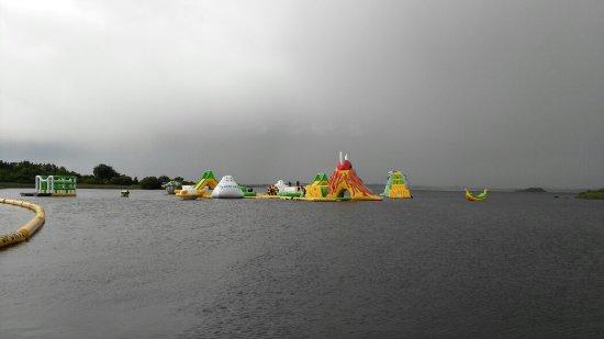 Athlone, Irlanda: Hailstones in July!!