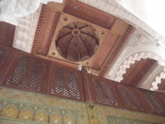 Casablanca, Marrocos:  Moschea di Hassan II interno
