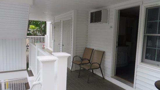 Studio East Motel: Outside room #236