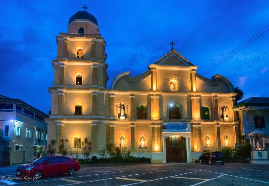 Cathedral of St Joseph the Patriarch: Cathedral at dusk