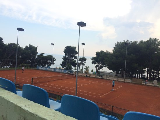 Tennis center Makarska