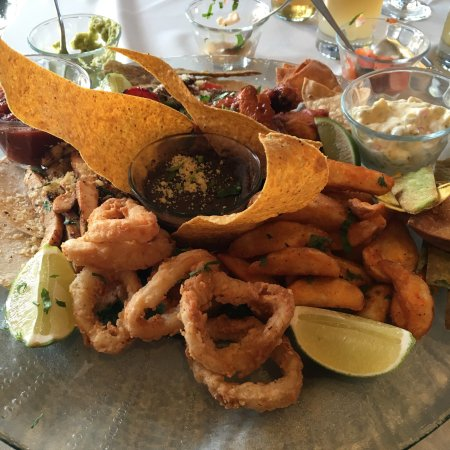 Pacifico Beach Club Restaurant & Bar : Some of the great food we have had at the beach club restaurant. Well worth trying.