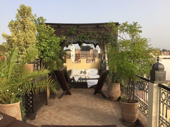Riad Assakina: My little rooftop hideout