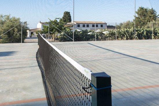 Casa Galo: campo tennis