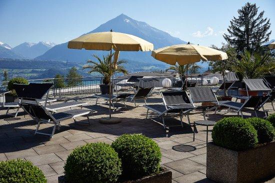Tolle aussicht bild von solbad hotel sigriswil for Tolle hotels
