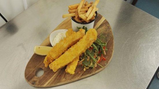 Restaurant at The New Inn: Tempura ling on The New Inn specials lunch menu