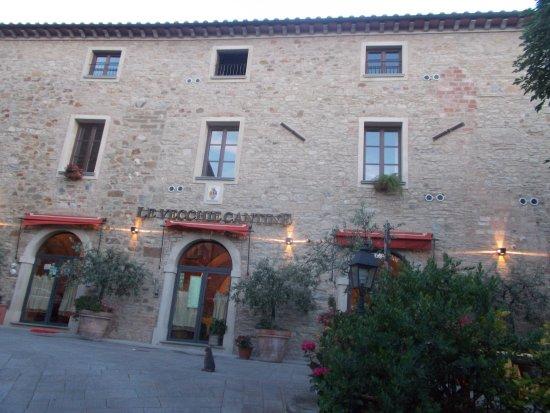 Chianni, Włochy: Restaurant