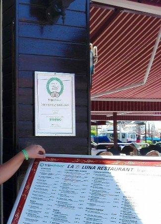 La Luna Restaurant: Tu ste i Vi