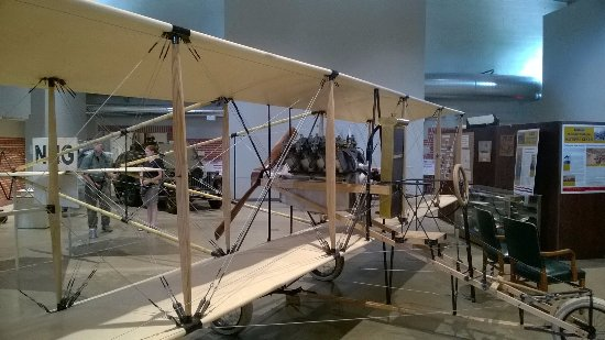 ซูเอิร์ด, เนบราสก้า: The museum has a replica 1913 Curtiss Pusher, which was first aircraft flown by the Nebraska Gua