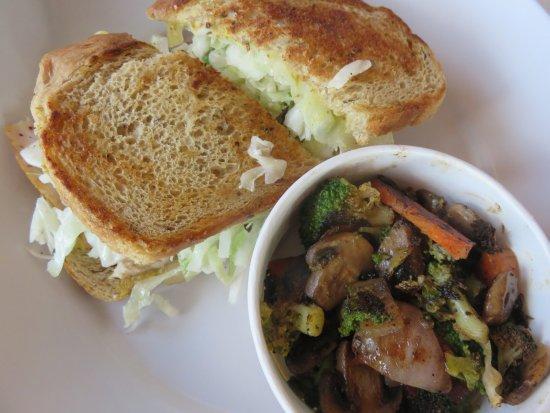 Zoes Kitchen Gruben Gruben Sandwich And Roasted Veggies  Picture Of Zoes Kitchen