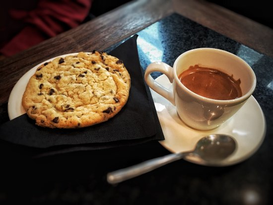 Woluwe-St-Pierre, Βέλγιο: Cookie & Café. Miam miam... 😋