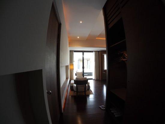 Cape Nidhra: From room door