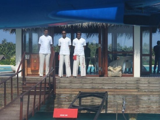 PER AQUUM Niyama Maldives: Our welcoming party