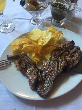 Vlees aangebrand