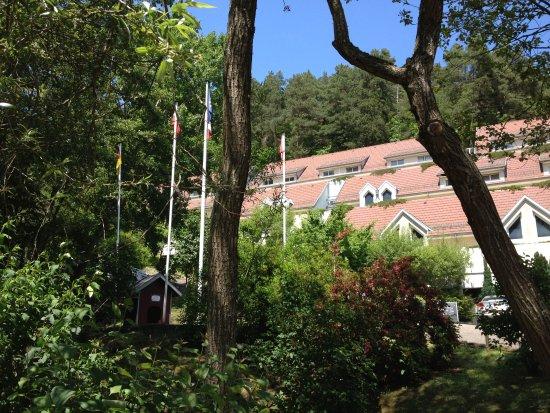 Husseren-les-Chateaux, فرنسا: Hôtel en forêt