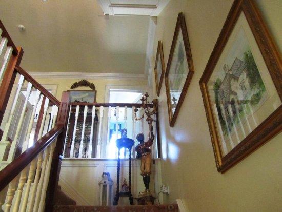 Ballybay, Irlanda: The stairway