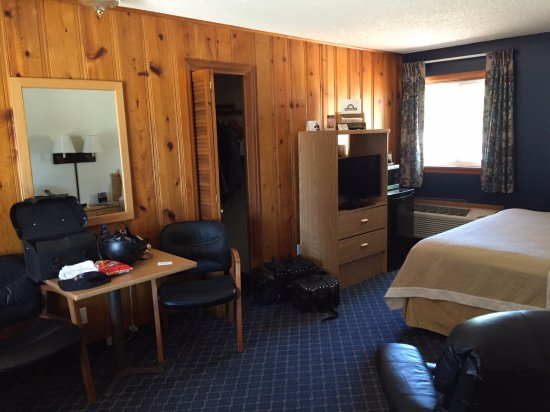 Worland, Ουαϊόμινγκ: The inside of our room