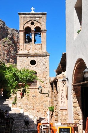 To Kanoni Restuarant in Monemvasia - Excellent Food, Service with an amazing View!