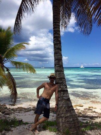 Parque Nacional del Este, Dominican Republic: Es la isla donde se filmo la pelicula ¨la Laguna Azul¨